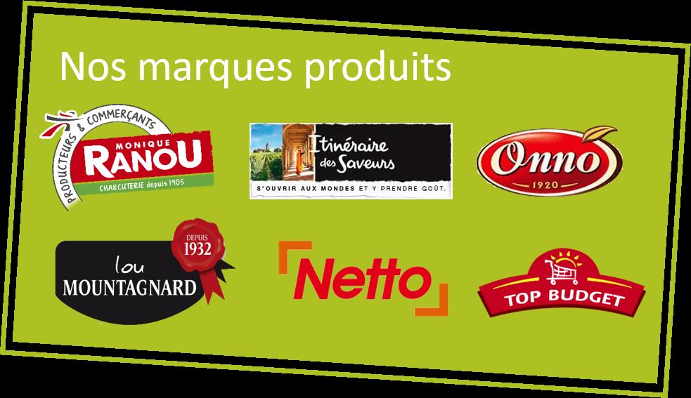 Nos marques produits